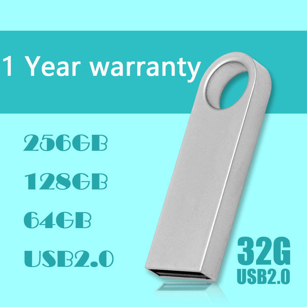 2.0 32GB 128GB USB Drive Mini Key USB Flash Memory Stick Card Metal Pen Drive 64GB 8GB16GB 32GB Pendrive Flash Card Disk 1TB 2TB