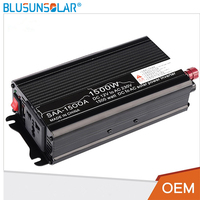 1500W Car Power Inverters 12V 220Vac/230Vac Modified Sine Wave Inverter Charger Power Supply with USB Charger