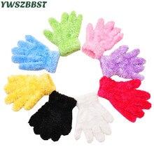 Зимние Детские перчатки, теплые перчатки для мальчиков, детские перчатки для танцев для девочек, От 1 до 6 лет, Детские Вечерние перчатки для студентов, подарки, варежки