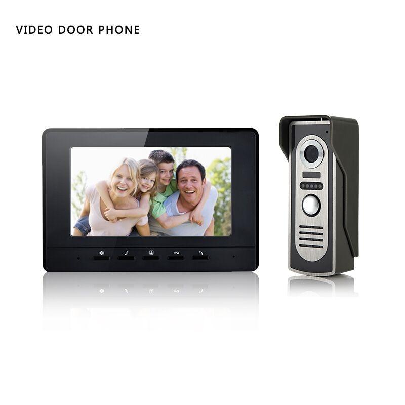 Xinsilu V70H M2 7 Inch Color Video Door Phone Intercom Doorbell System HD IR font b