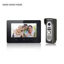 Xinsilu V70H-M2 7 Pulgadas Color Video de La Puerta Sistema de Intercomunicación Del Timbre Del Teléfono HD IR de la Cámara del teléfono Altavoz Del Monitor de Seguridad Para el Hogar