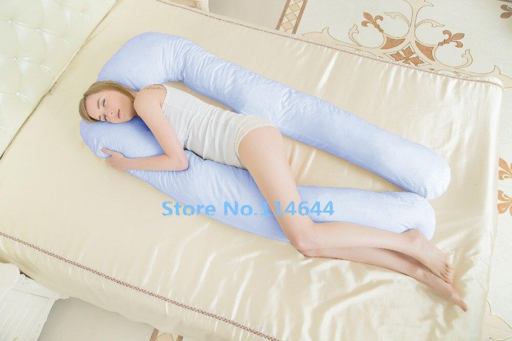 Nieuwe body kussens slapen zwangerschap kussen belly contoured