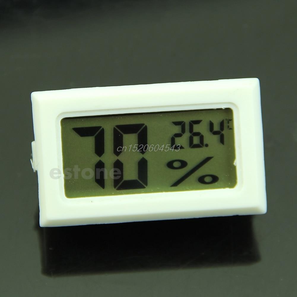 Lcd Digital Temperatur Feuchtigkeit Meter Gauge Thermometer Hygrometer 10% ~ 99% Rh R06 Drop Schiff Strukturelle Behinderungen Analysatoren Werkzeuge
