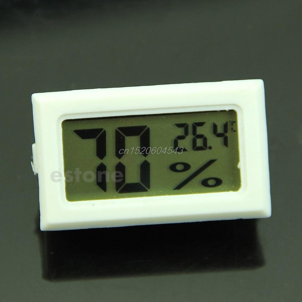LCD Digital Temperature Humidity Meter Gauge Thermometer Hygrometer 10%~99%RH R06 Drop Ship 50 70c 10% 99%rh lcd digital thermometer hygrometer tester temperature sensor meter humidity gauge detector 29% off