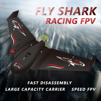 New flying shark RC Airplane EPP Foam Airplane Flying Model Aircraft Kits Delta Wing Electric Remote Control Glider model