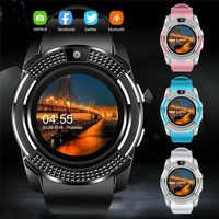 Nuevo reloj deportivo inteligente reloj inteligente hombre Bluetooth SIM táctil rastreador con pantalla SOS para niños regalos para IOS y Android