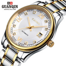 Luxury Men Wristwatch Automatic Watch Men Auto Date GUANQIN Men s Watches Waterproof Man Fashion Casual