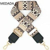MEDADA Nylon Womens Zakken Breed Handtas Riem Schoudertas Accessoire Zak Deel Verstelbare Riem Accessoires