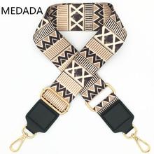 MEDADA nylonowe torby damskie szeroka torebka z paskiem akcesoria do toreb na ramię torba część regulowany pasek akcesoria do paska tanie tanio Pasek torby 150g MD042 130cm