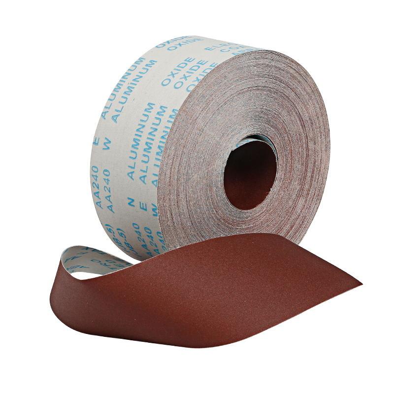5 Meter Woodworking Polished Gauze Roll Shredded Sandpaper 100mm Furniture Metal Sanding Cloth #80/120/150/180/240/320/400/600