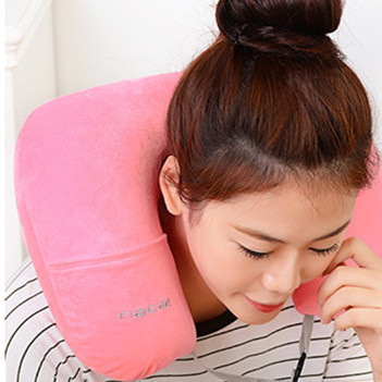 U-Shape Inflatable Neck Pillow