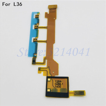 1-10PCS Original For sony Xperia Z L36H L36 LT36 C6603 C6602 Volume Button Power Flex Cable Power ON/OFF Microphone image