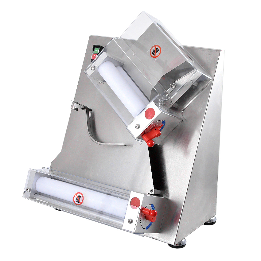 350W Electric Pizza Dough Roller Machine Stainless Steel Max 12 inch Pizza Dough Press Machine Sheeter Food Processor APD30 machine