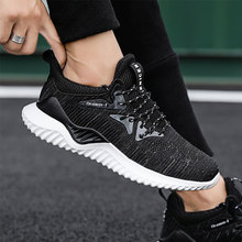SUROM Spring Men Sneakers Breathable Comfortable Running Shoes 2019 New Fashion Male Outdoor Sport zapatillas hombre