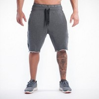 2016 New Gym Clothing Man Shorts Casual Skinny Bodybuilding Gym Shark Shorts Men Sports Joggers Cotton