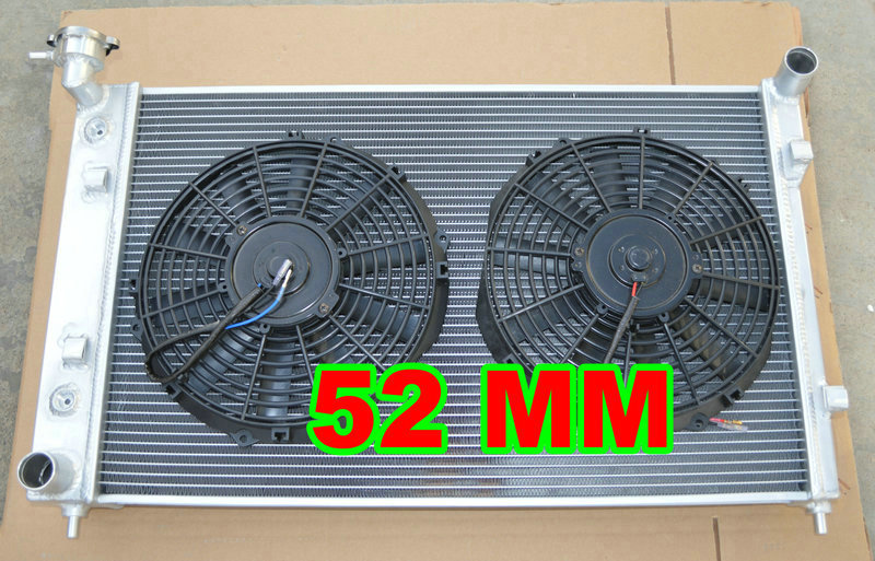 NEW Aluminum Radiator +FAN FOR Holden Commodore VY V6 6cyl 03 04 2002 2003 2004 MT