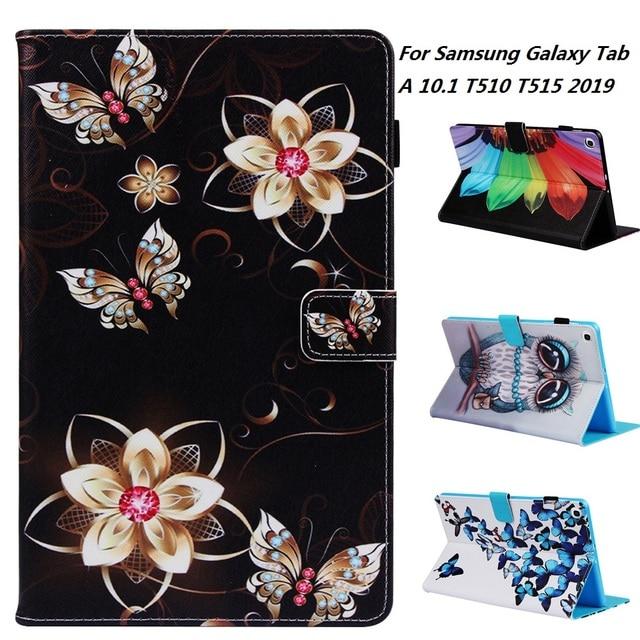 Модный чехол для планшета Samsung Galaxy Tab A, SM-T510 SM-T515 T510 T515, 10,1 дюйма, 2019