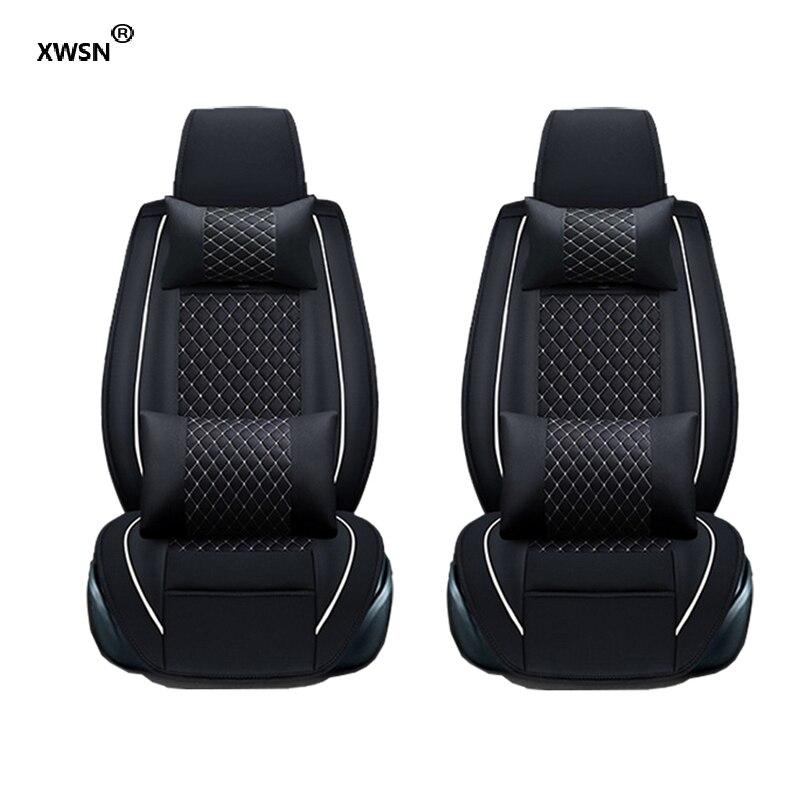 XWSN Universal car seat cover for infiniti fx jaguar xf hummer h2 for chrysler 300c voyager geely emgrand ec7 Car seat protector коврик в багажник geely emgrand ec7 rv 2011