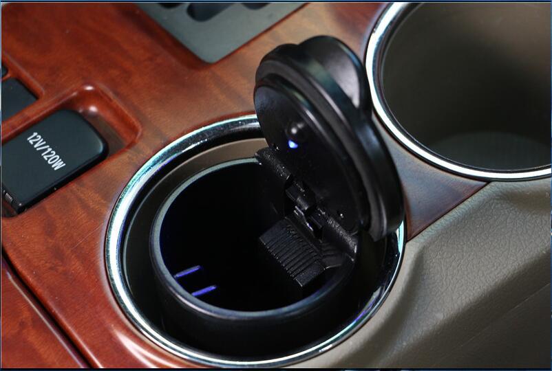 1 Pc Tragbare Auto Auto Lkw Led Zigarette Rauch Auto Aschenbecher Für Honda Hr-v Fit Accord Civic Cr-v Stadt Jazz Crider Greiz Elysion Gute Begleiter FüR Kinder Sowie Erwachsene
