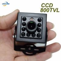 HQCAM Sony CCD 800TVL Night Vision 10pcs 940nm IR LED Security Indoor CCTV Mini Camera ccd camera IR Night vision camera