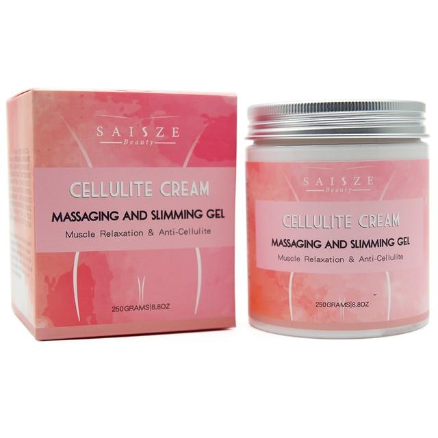 Cellulite Hot Cream Slim Belly Fat Soothes Leg Relaxed Adipose Massage Slim Fast Tightens Skin Fat Burn Slim Cream Unisex 250g 3
