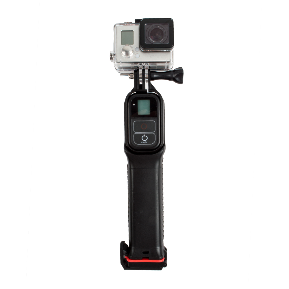 New 2 in 1 Waterproof Diving Floating Extension Pole Float Floaty Monopod With WIFI Remote Clip For Gopro Hero 5 3 4 3+ 2