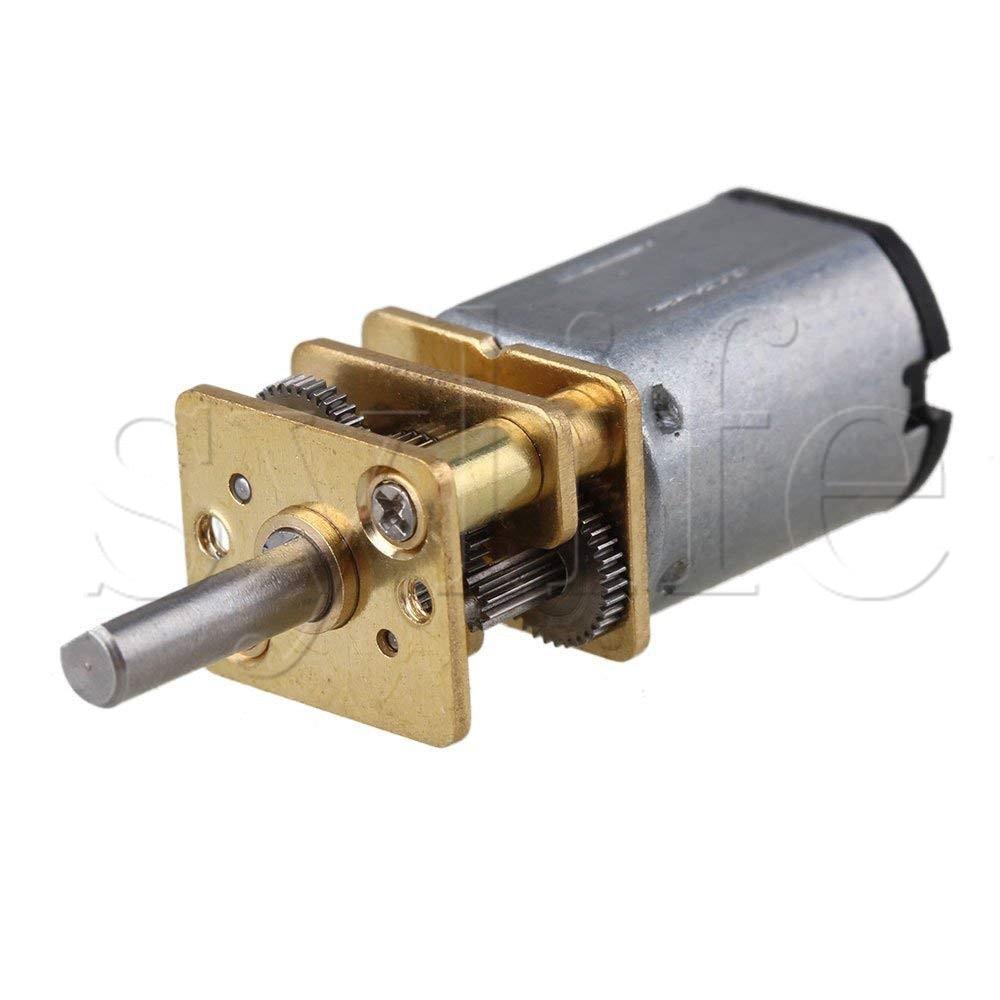 12mm GA12-N20 Metal 150RPM Speed Mini DC6v Gear Electric Motor Gearwheel12mm GA12-N20 Metal 150RPM Speed Mini DC6v Gear Electric Motor Gearwheel