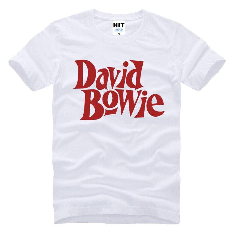 David Bowie Rock Music Memorial Männer T-Shirt T-Shirt Männer 2016 - Herrenbekleidung - Foto 1