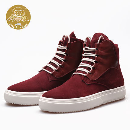 Aliexpress.com : Buy Ankle Boots High Top Sneakers Men Dress Shoes ...