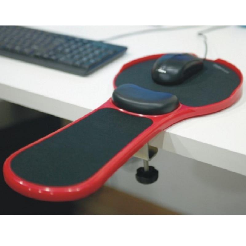 Tables et chaises ordinateur dédié main pad mémoire coton poignet longueur pad support poignet Support souris pad support 180 Rotat