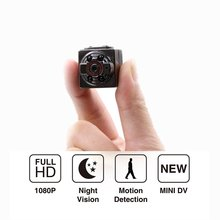 Sq8 Mini DV Camera 1080p Full HD Car DVR Body Motion Detection Night Vision Nanny Video Recorder Camcorder For Home Security