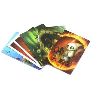 Image 4 - D i x i tカードゲームストーリーデッキ1 2 3 4 5 6 7 8合計336トランプ木製バニーのためのァミリーパーティーボードゲーム