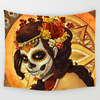 Wall Hanging Skull Tapestry 2