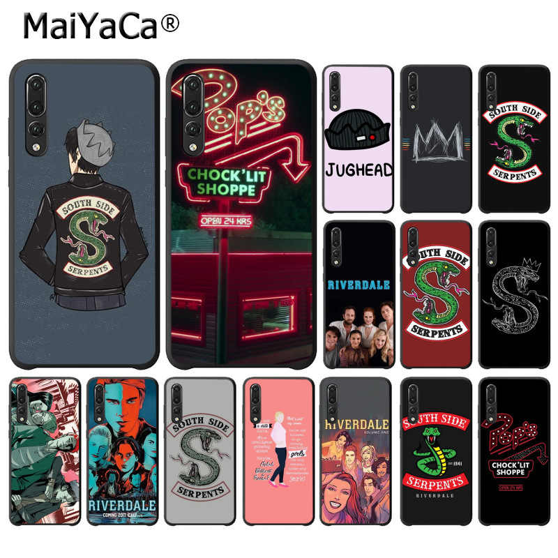 MaiYaCa Riverdale South Side Serpents Newly Black Phone Case for Huawei P10 plus 20 pro P20 lite mate9 10 lite honor 10 view10
