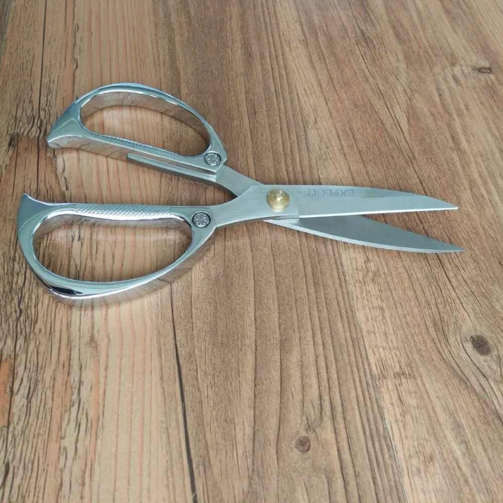 Бытовые золотые и Серебристые ножницы из нержавеющей стали швейные для