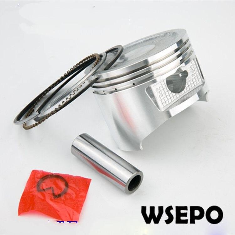 Chongqing Qualità! 90mm Diametro Pistone & Rings Kit con Perno e Anello di Sicurezza per 190F/GX420 420CC Motore A Benzina, 7KW Gnerator Parti