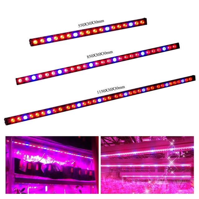 54w81w108w waterproof ip65 led grow light bar with red blue 54w81w108w waterproof ip65 led grow light bar with red blue spectrum for aloadofball Image collections