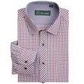 Clássico dos homens de alta qualidade camisa xadrez de manga comprida camisa de vestido de homens de negócios camisas formais mens clothing camisa masculina