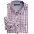 High quality Men's classic plaid shirt Long sleeve dress shirt men Business formal shirts Mens clothing camisa masculina