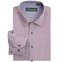 Hohe qualität männer klassische plaid langarm-shirt kleid shirt männer Business formale shirts Herren bekleidung camisa masculina