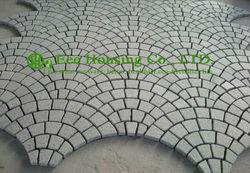 Freies Verschiffen Granit würfel für fahren weise Natur Granit, Grau Fertiger Stein, Quadratmeter Preis Für Schöne Einfahrt stein