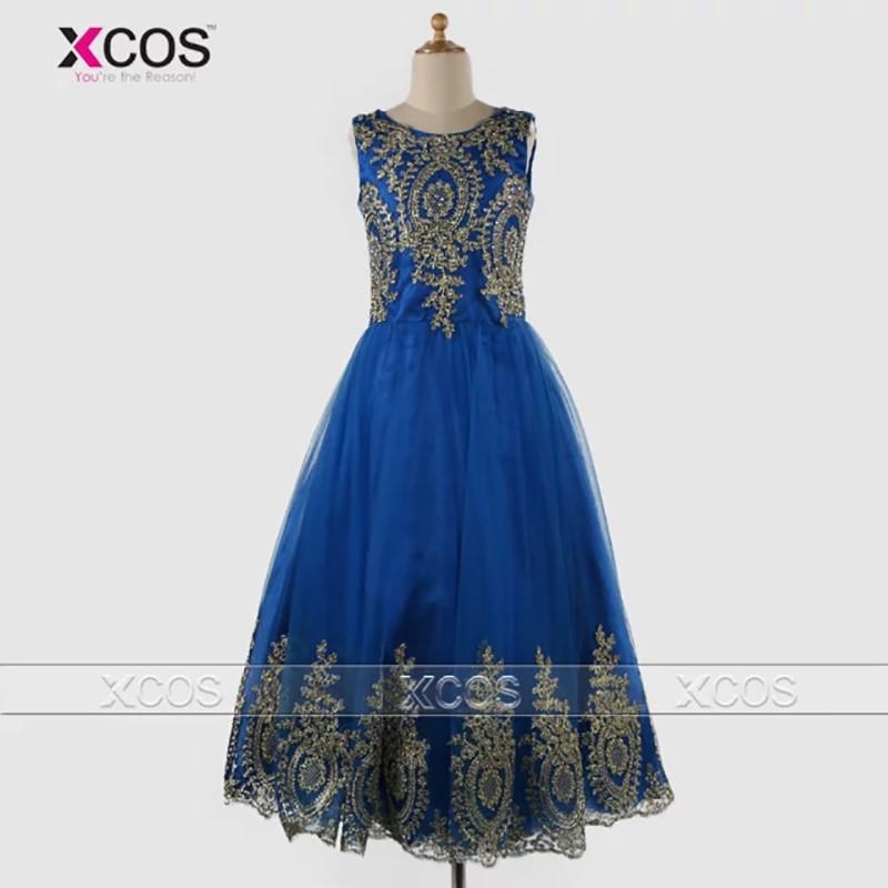 Christmas-Vestido-De-Daminha-Royal-Blue-Lace-Flower-Girl-Dress-Applique-Beads-Real-Picture-Pageant-Dresses