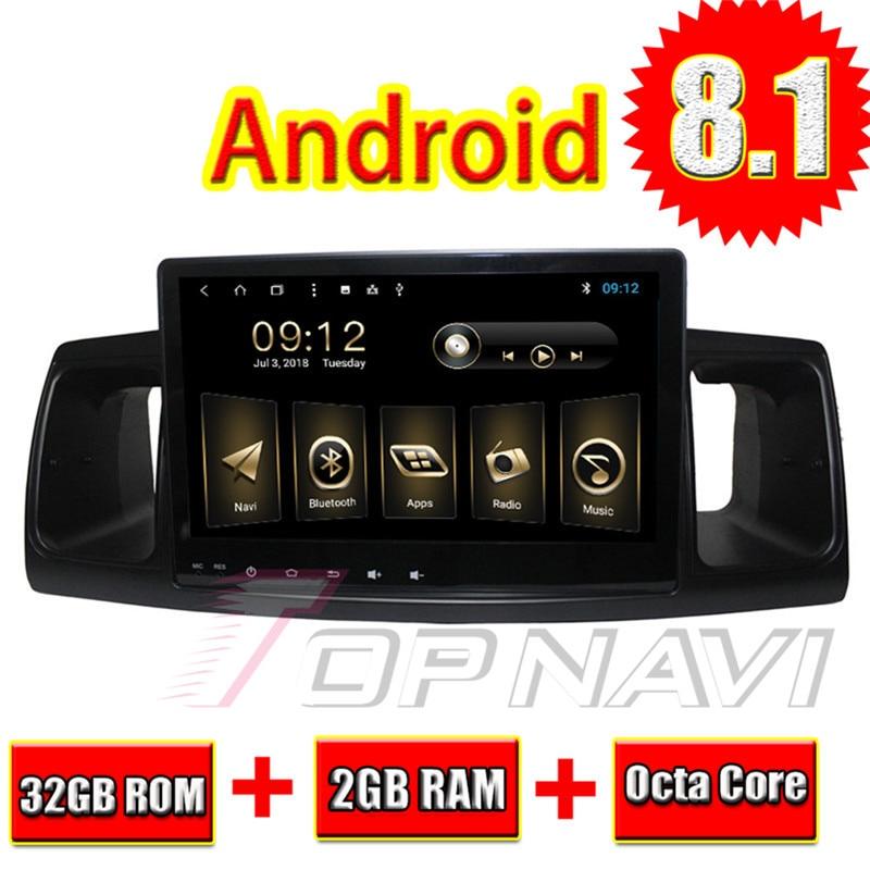 "Topnavi 9"" Octa Core Android 8.1 Car Multimedia Radio for Toyota COROLLA EX 2013 2014 2015 2016 Multimedia Audio Stereo NO DVD"