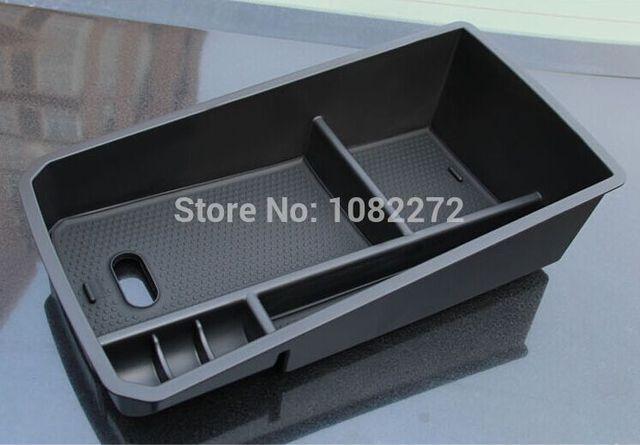 Caixa bandeja organizador recipiente palete de armazenamento dentro do apoio de braço consola central para bmw x3 f25 f26 2011-2015x4 2014 +