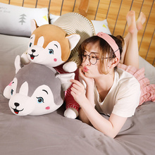 1pc 40-100cm Lovely Husky with Clothes Stuffed Cute Animal Dog Plush Toys Doll for Children Soft Pillow Birthday Gift for Girls  - buy with discount