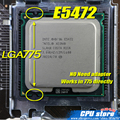 INTEL XEON E5472 3.0GHz/12M/80W/ 1600Mhz/CPU equal to LGA775 Core 2 Quad Q9550 CPU,works on LGA775 mainboard no need adapter