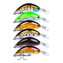 цены 1Pcs High quality minnow 5.5cm 4g Floating water serie Hard Fishing Lure Crank Bait flaot Lake River Wobblers Fishing Baits