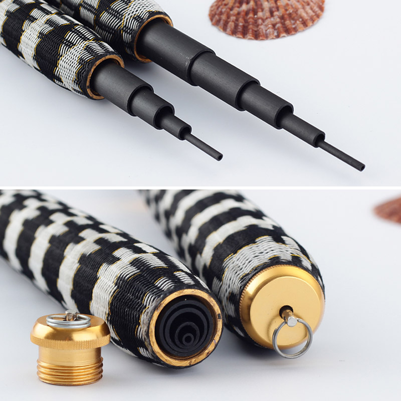 Telescopic Carbon Fiber Fishing Rod with Strong and Exquisite Handle to Catch Marine and Lake Fishes 2