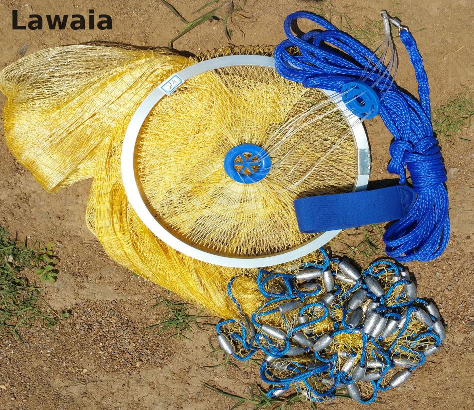 Lawaia 2,4-4,2 μ. Αμερικάνικο Σήραγγα Καθαρό - Αλιεία - Φωτογραφία 1
