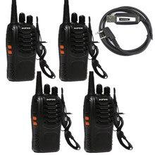 baofeng 888s radio UHF walkie talkie for hunting with headset good price walkie talkie two way radios
